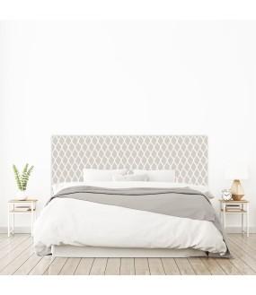 """Tête de lit """"VOLUTES"""" grise sur mesure"""