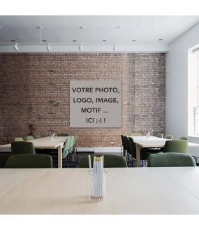 Habillage de mur sur mesure PVC avec votre photo ou motif