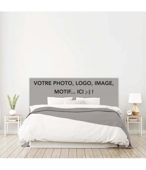 Tête de lit avec votre photo ou motif