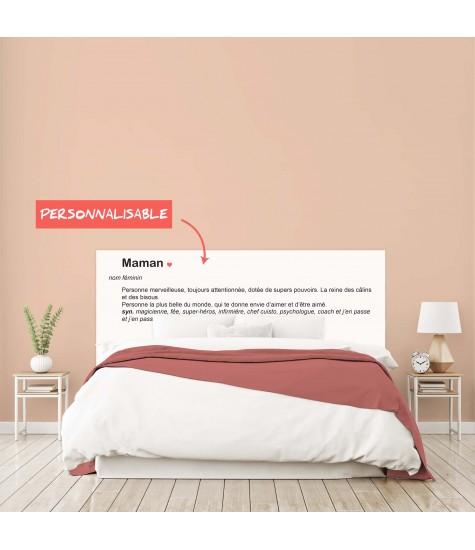 """Tête de lit """"FETE DES MERES"""" sur mesure"""