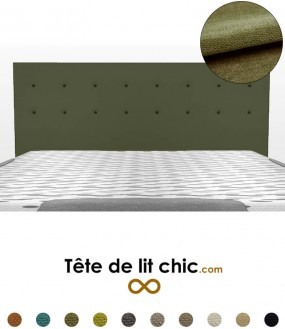 t te de lit de couleur froide tete de lit chic. Black Bedroom Furniture Sets. Home Design Ideas