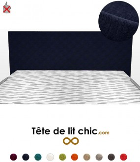 t te de lit double livraison offerte d s 200 d 39 achat tete de lit chic. Black Bedroom Furniture Sets. Home Design Ideas