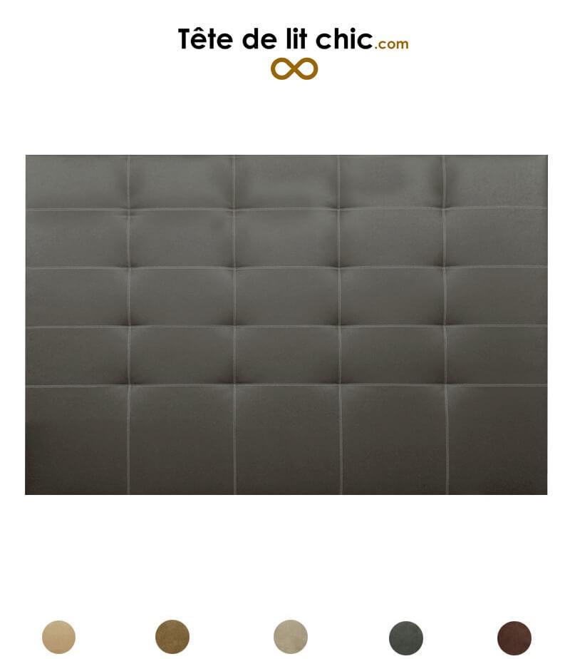 d4db4a138d Tête de lit cloutée en alcantara personnalisable - 8 tailles disponibles
