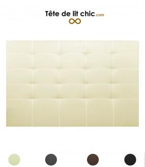 Tête de lit surpiquée personnalisable - 8 tailles disponibles
