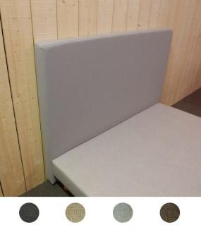 Tête de lit design en imitation lin - 4 coloris disponibles