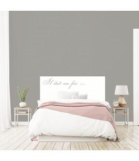 """Tête de lit """"HISTOIRE"""" sur mesure"""
